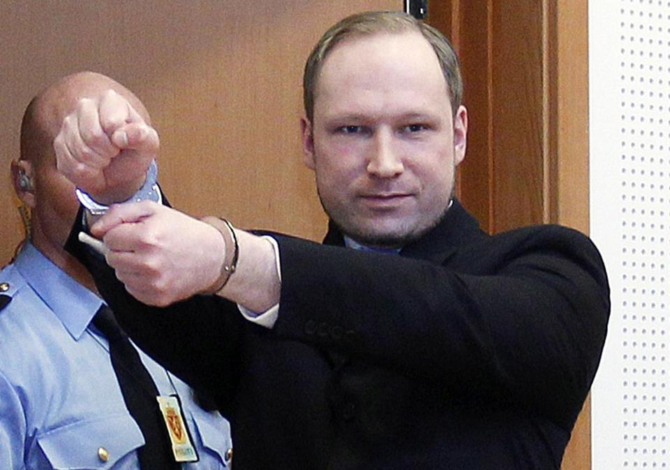 Anders Behring Breivik has confessed to the mass shooting and calls the victims traitors to Norway.