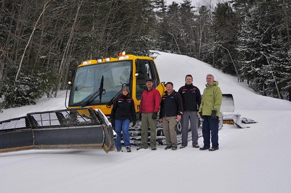 The Hoyt family is in its fifth generation of owning and operating King Pine ski area.