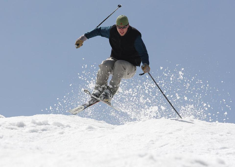 With warmer temperatures, resorts such as Sugarloaf have more difficulty convincing skiers there is still good snow.