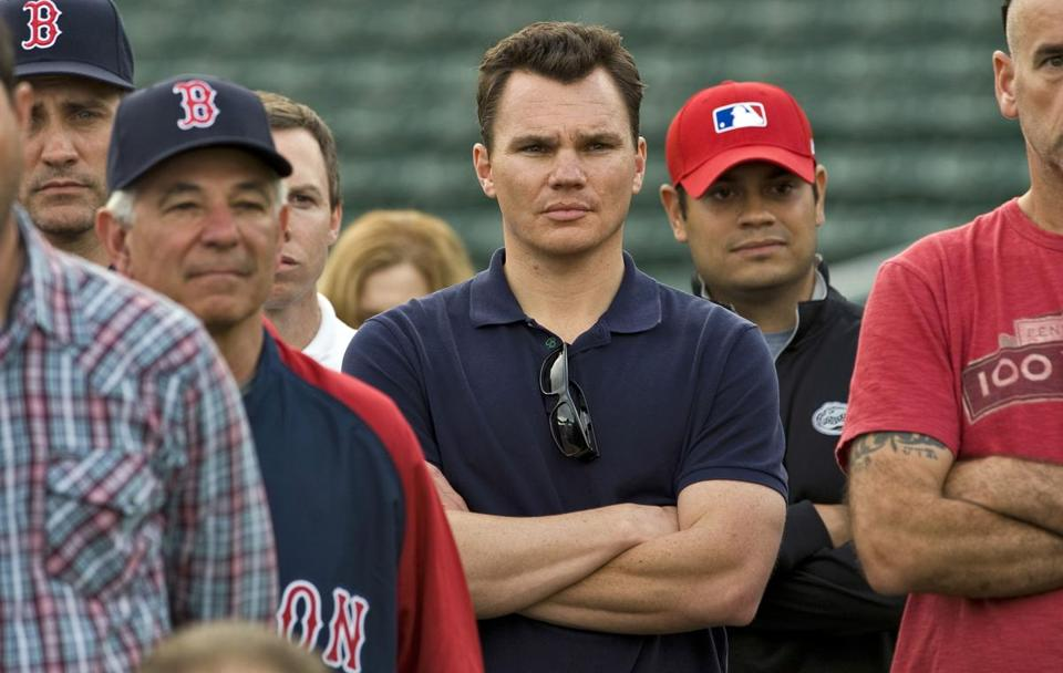 In his first spring as the Red Sox GM, Ben Cherington has already watched two longtim Red Sox players say goodbye in Jason Varitek and Tim Wakefield.
