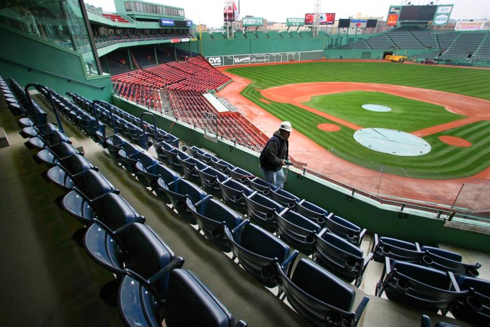 Red Sox Unveil Outdoor Premier Seating Club At Fenway