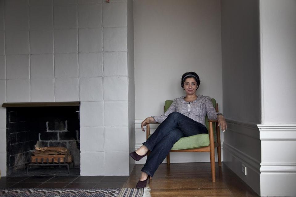 Iranian interpreter Banafsheh Keynoush, who for years translated for Iranian presedent Mahmoud Ahmadinejad when he visited the United Nations, at her home in San Francisco, Calif.