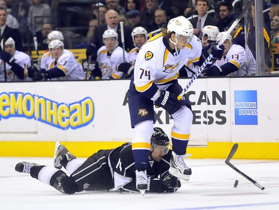 Unlike the plummeting Bruins, the Predators are playing as though they want to make a run into June.