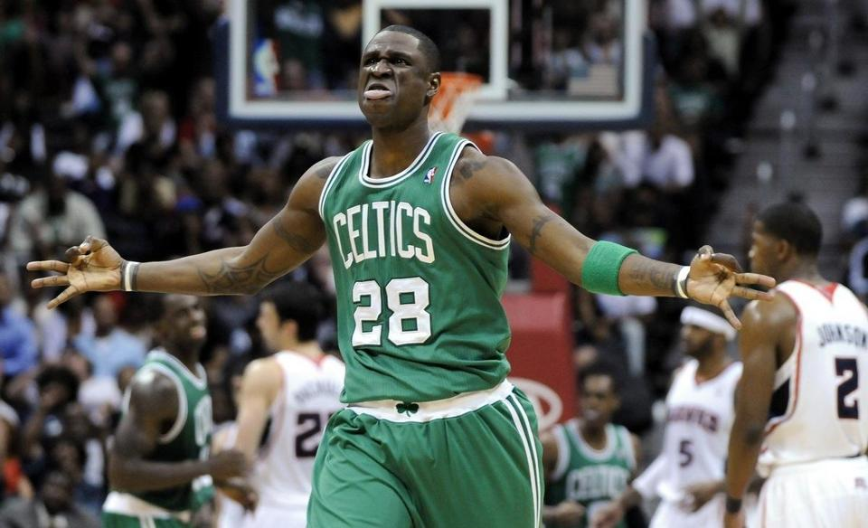 Celtics guard Mickael Pietrus has been diagnosed with a concussion, according to coach Doc Rivers.