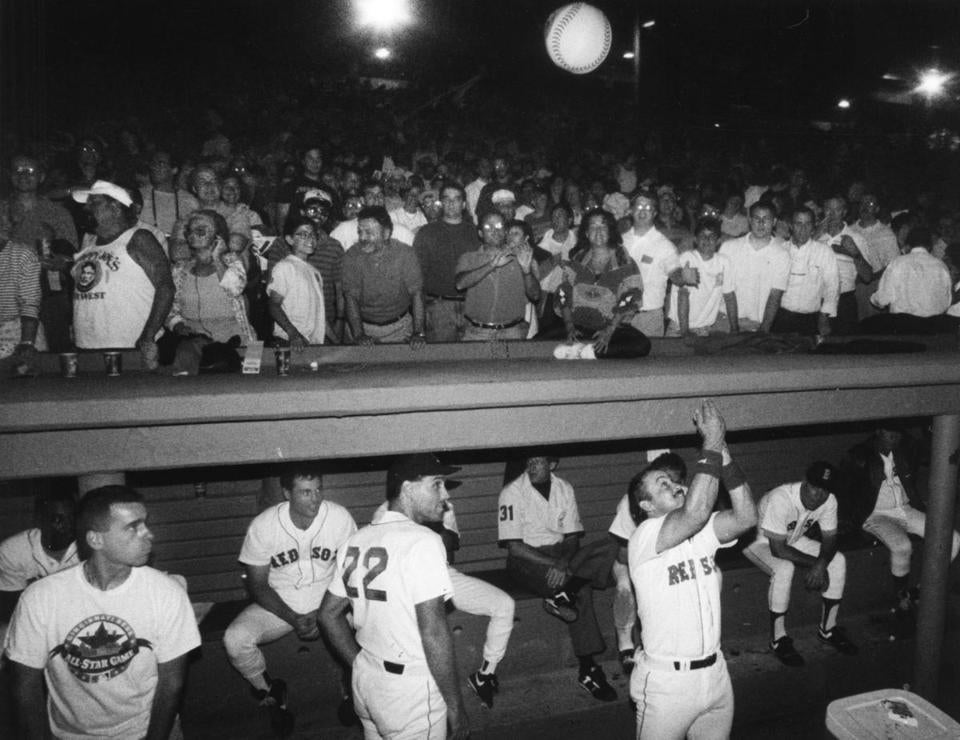 Fenway park went dark on May 13, 1991, during a blackout.