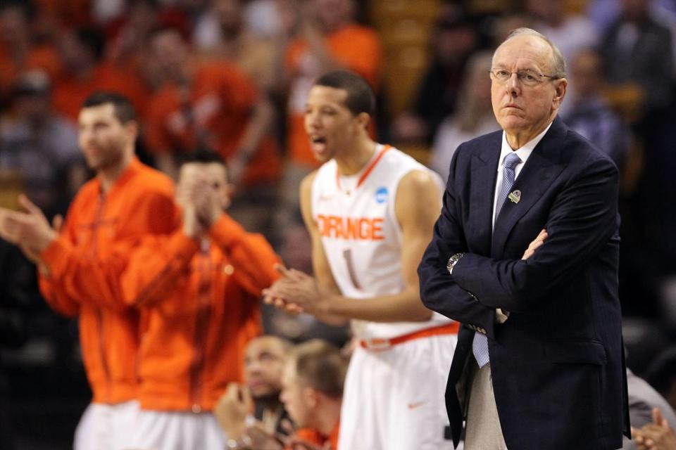 Jim Boeheim's Syracuse team survived a close game on Thursday.