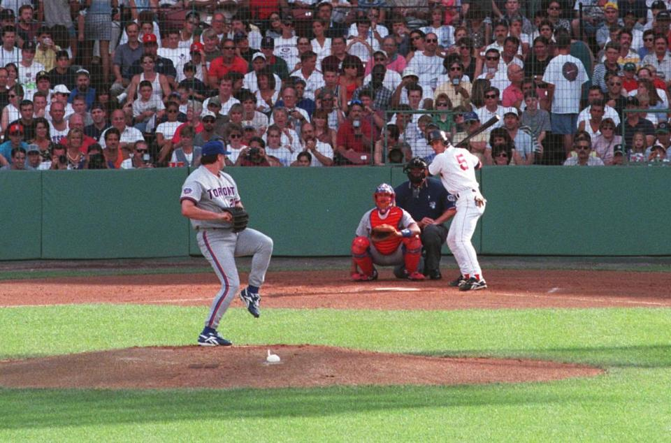 Roger Clemens came back to Fenway Park motivated to beat the Red Sox in 1997.