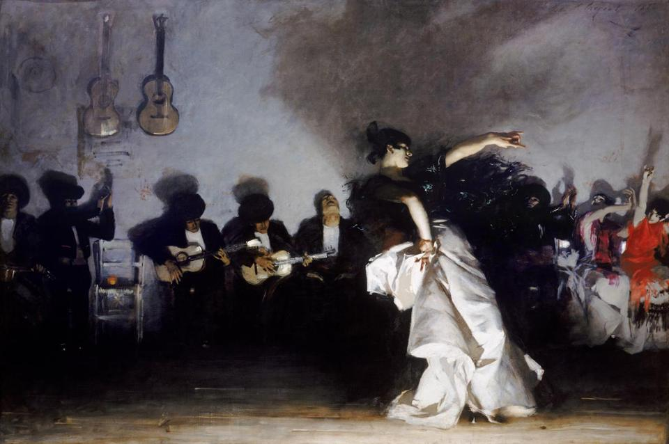 ''El Jaleo'' is one of the masterpieces of John Singer Sargent's Paris years.