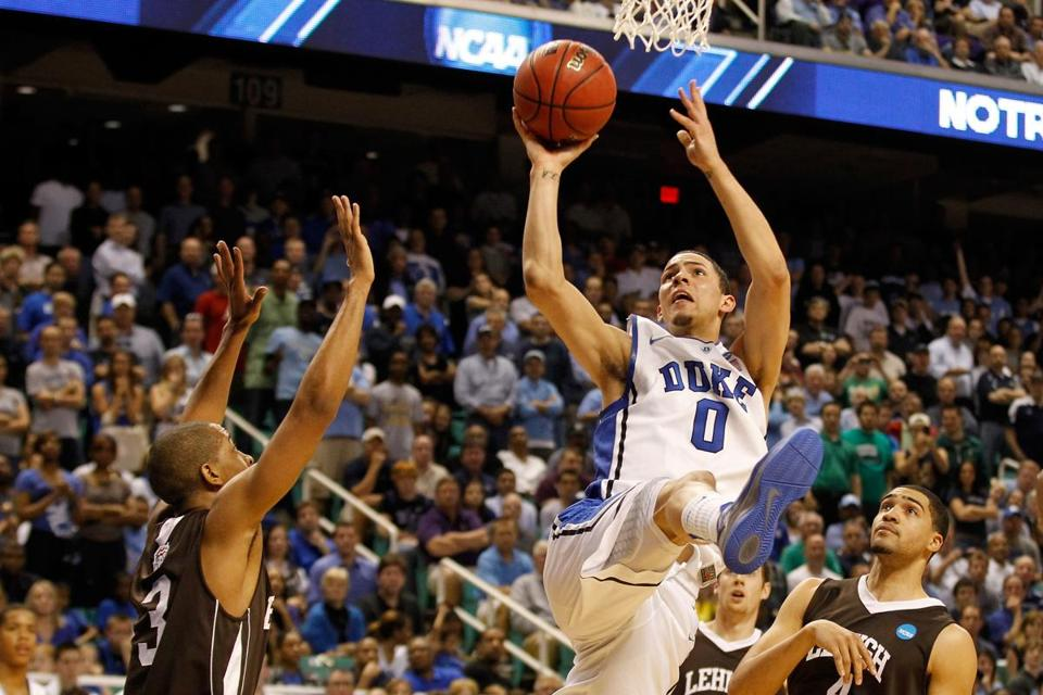 Austin Rivers, a freshman guard at Duke, averaged a team-leading 15.5 points and was the ACC rookie of the year.