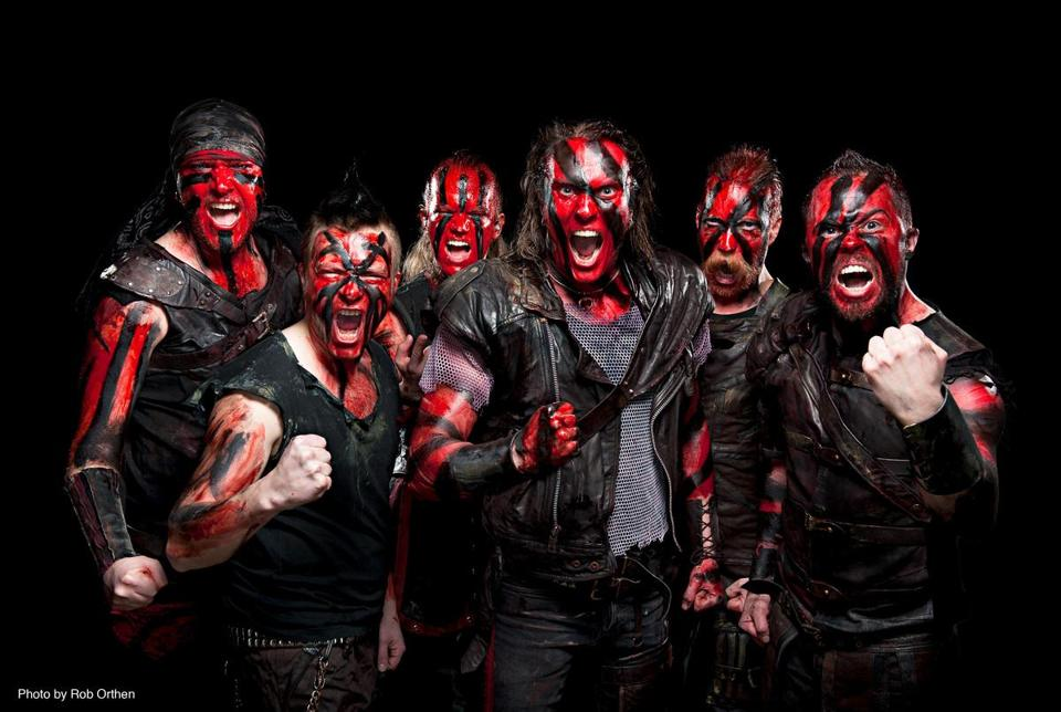 Turisas, from Finland.