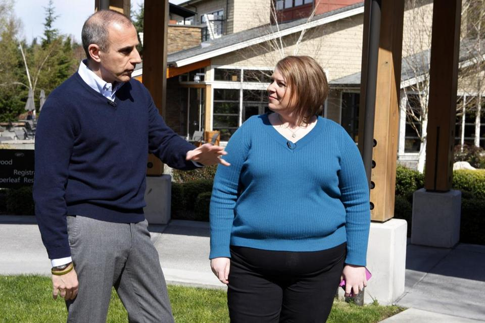 "Matt Lauer, co-host of NBC's ""Today"" show, talked with Karilyn Bales, the wife of Staff Sergeant Robert Bales, for an interview broadcast Monday."