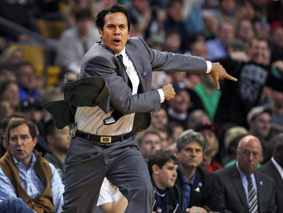 """This game was unacceptable,'' Heat coach Erik Spoelstra said about the loss to the Celtics. ""We will fix it together, collectively. We're not happy about it."""
