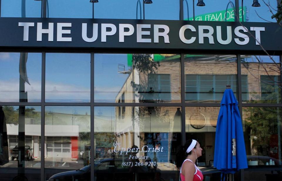 The Upper Crust pizza location at 1330 Boylston Street in Boston.