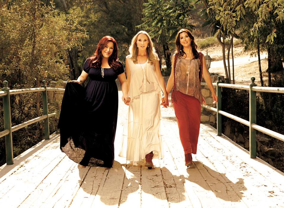 "From left: Carnie Wilson, Chynna Phillips, and Wendy Wilson have a new reality TV show and an album called ""Dedicated."""