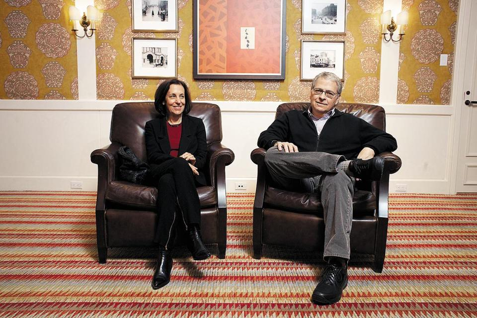 "Lawrence and Meg Kasdan were recently in Boston to discuss their film ""Darling Companion."""