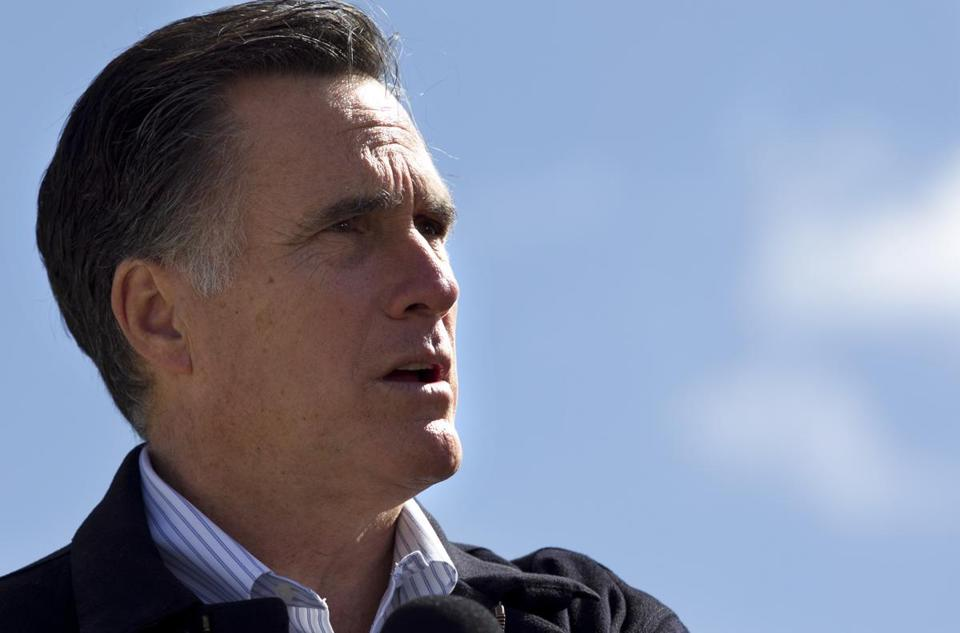 Mitt Romney campaigned Thursday in Tunkhannock, Pa.