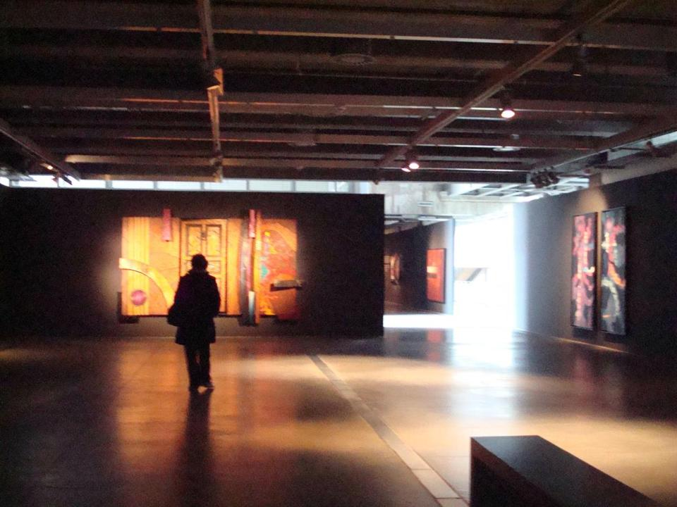 Contemporary art at Santralistanbul, the former power plant turned industrial archeology and art museum.