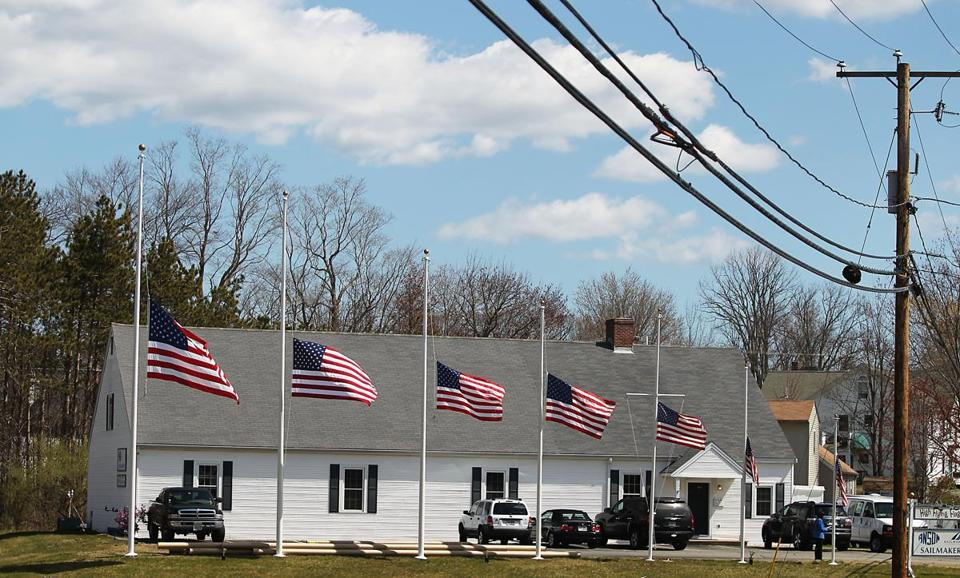 US flags flew at half-mast Friday in Greenland,  N.H.