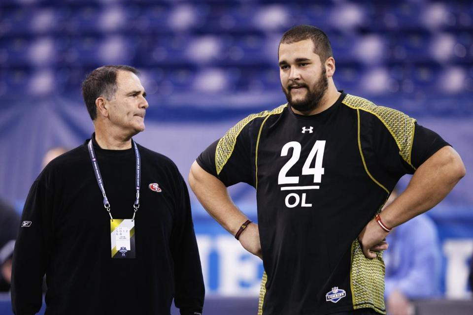 USC product Matt Kalil, right, may be the first offensive lineman taken in the draft.