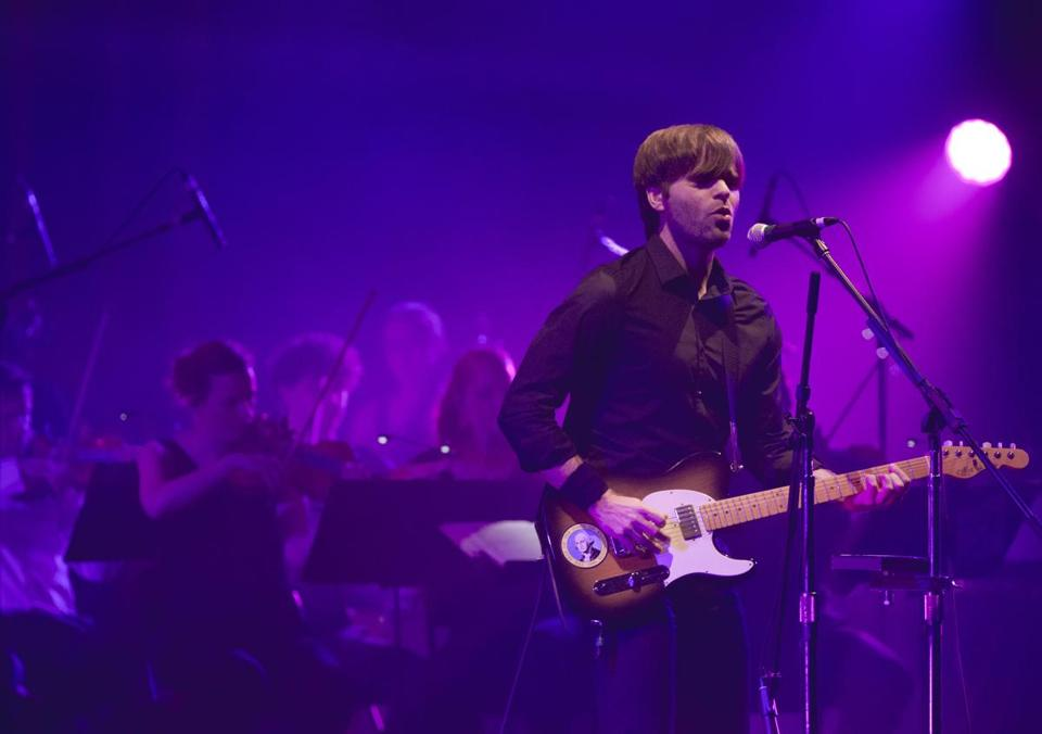 Ben Gibbard and Death Cab for Cutie played with Magik*Magik Orchestra Saturday night.
