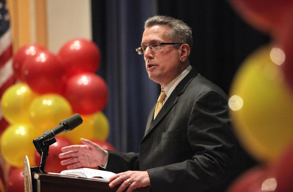 Massachusetts Education Commissioner Mitchell Chester recommended the state take over Holyoke schools.