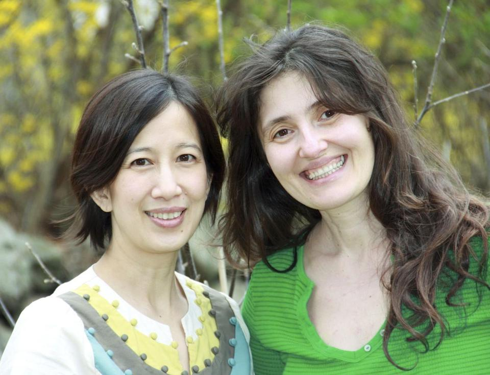 "Theresa Luu and Mirela Marku authored ""Mother & Son Kitchen Book Club: Stories and Recipes for Hungry Minds."""