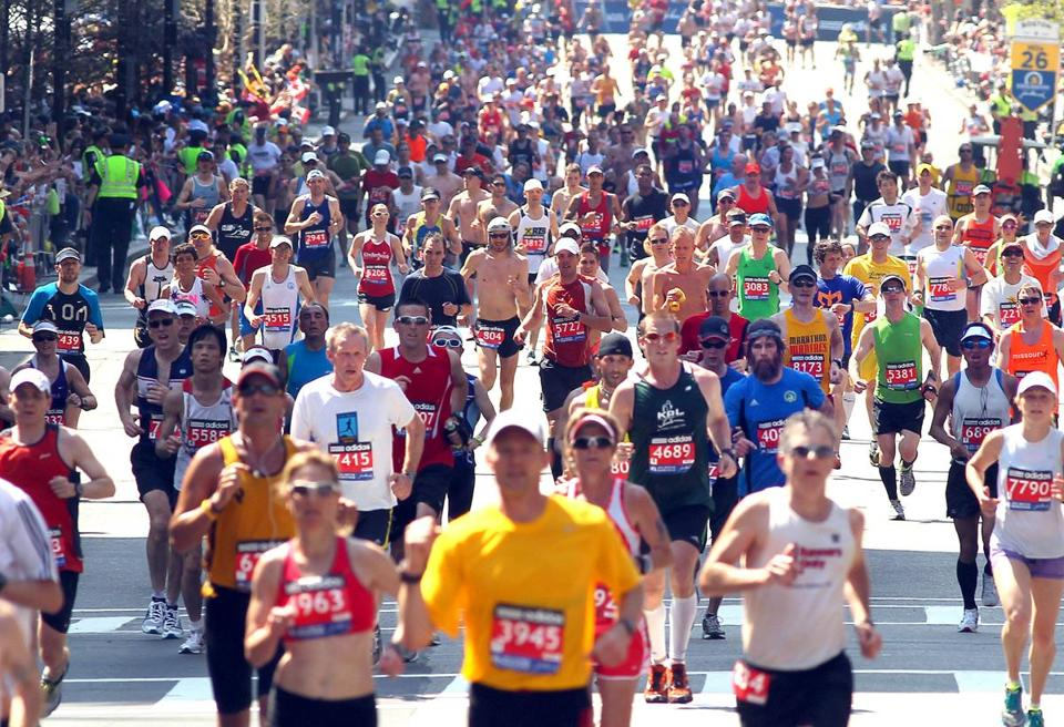 More runners may be streaming to the Boston Marathon finish line next year.