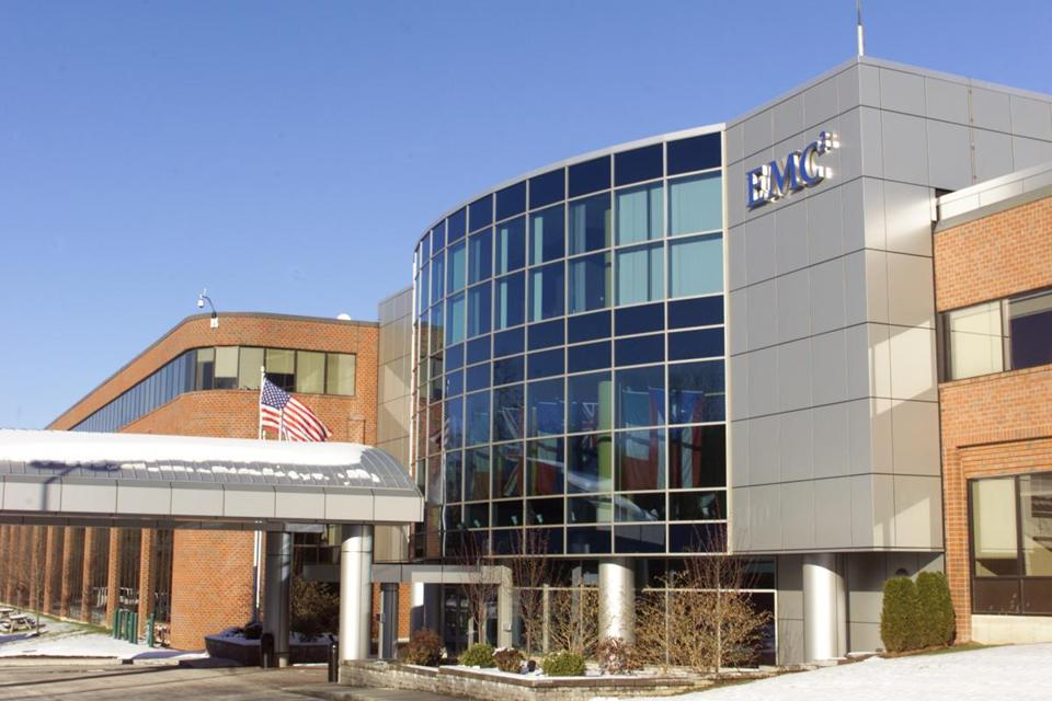 The EMC Corp. complex in Hopkinton.