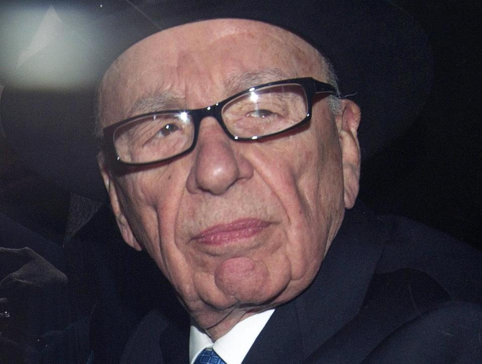 "Rupert Murdoch ""turned a blind eye and exhibited willful blindness to what was going on in his companies and publications,"" the House of Commons Culture, Media and Sport Committee said in a report published in London today."