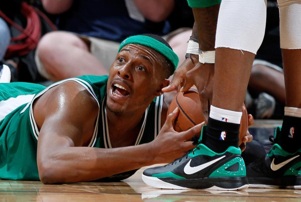 Paul Pierce led the Celtics to a win in Game 2 in Atlanta.