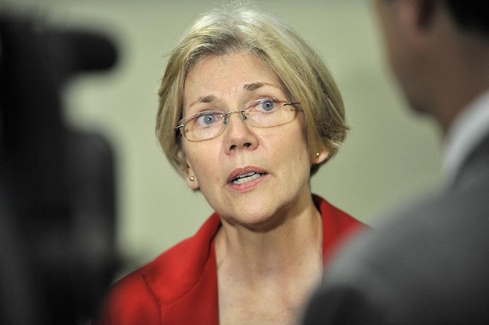 Democrat Elizabeth Warren has been fielding questions about her income taxes and ancestry.