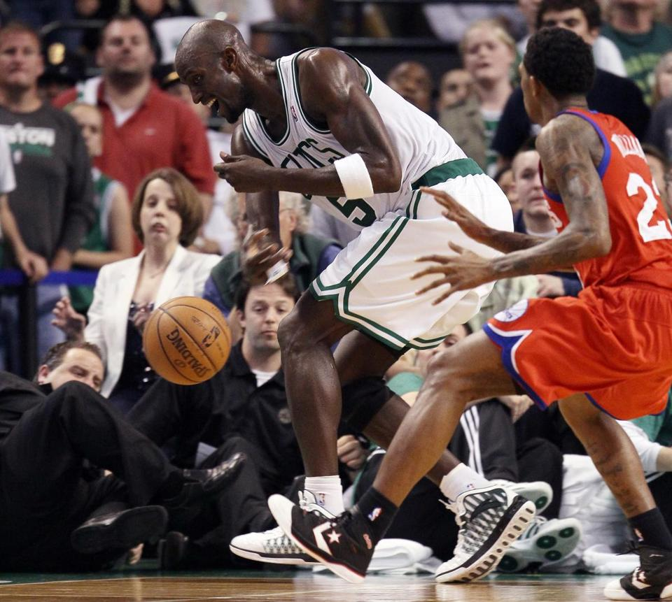 For 38 minutes Saturday night, Kevin Garnett had his hands on every aspect of the game.