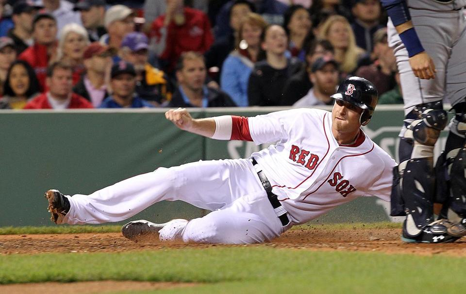 Will Middlebrooks went 1-for-4 with a run on Monday and ended the game with a .304 batting average.