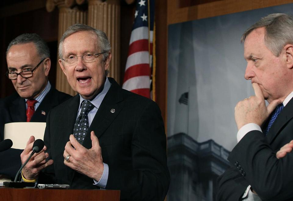 Senate Majority Leader Harry Reid failed to support reform, but has since apologized.