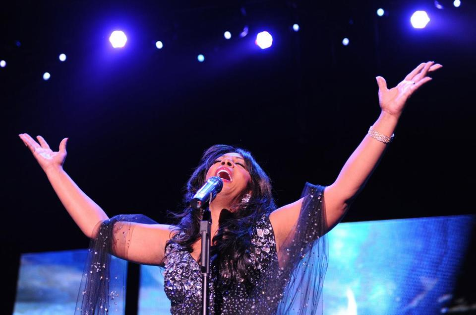 Donna Summer performed in Berlin in 2009.