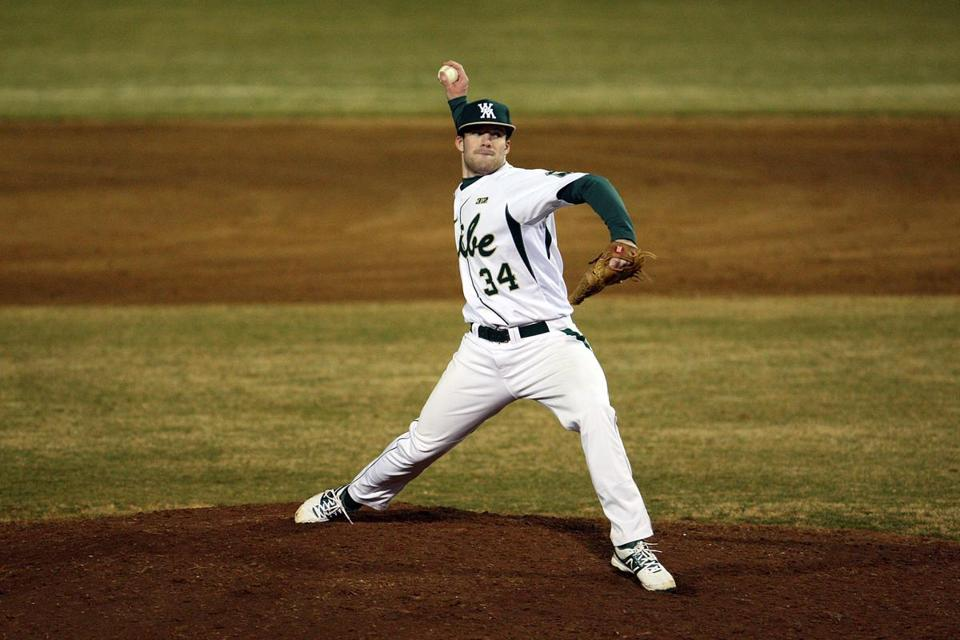 Andover High graduate John Farrell has racked up eight saves at William & Mary in 39.2 innings of work.