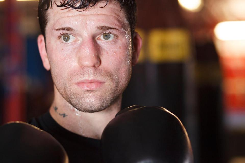 Danny O'Connor will be boxing at the TD Garden on Jan. 26.