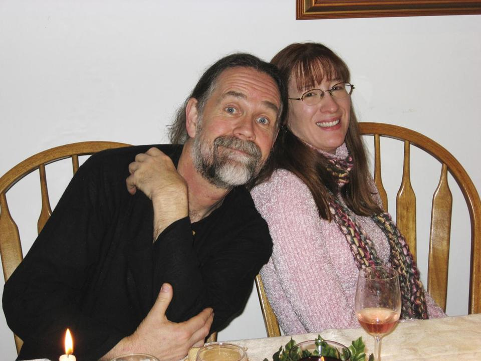 Brad Delp with fiancee Pamela Sullivan. An incident between Delp and Sullivan's sister has been revealed.