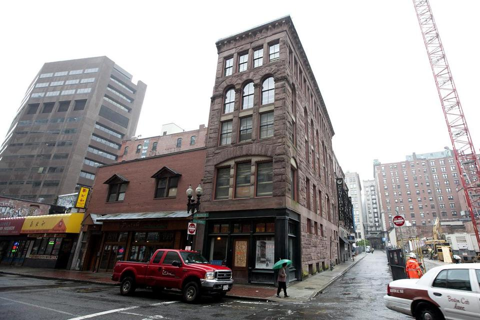 In 1990, the Hayden Building on Washington Street was listed by American Heritage magazine as one of the dozen greatest American buildings in danger of disappearing.