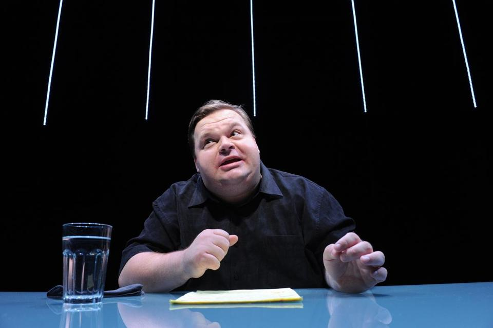 "Mike Daisey in ""The Agony and the Ecstasy of Steve Jobs"" in New York."
