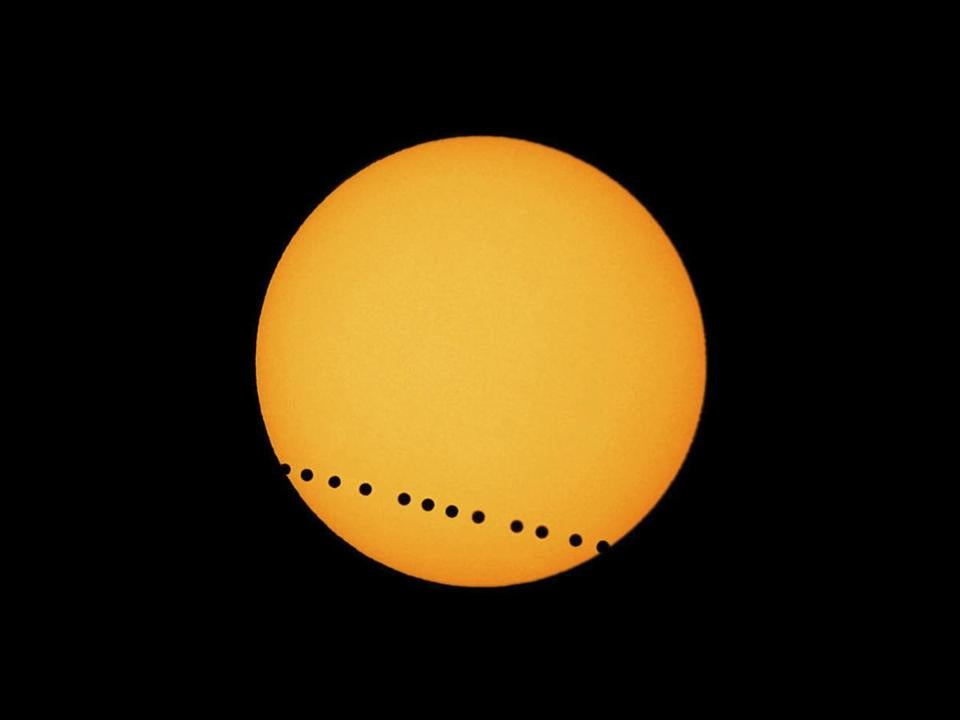 The transit of Venus — which will be visible from 6:03 p.m. until the sun sets in the Boston area — is an exceedingly rare event.