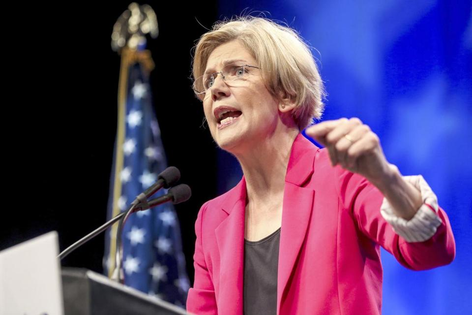 Democratic candidate Elizabeth Warren