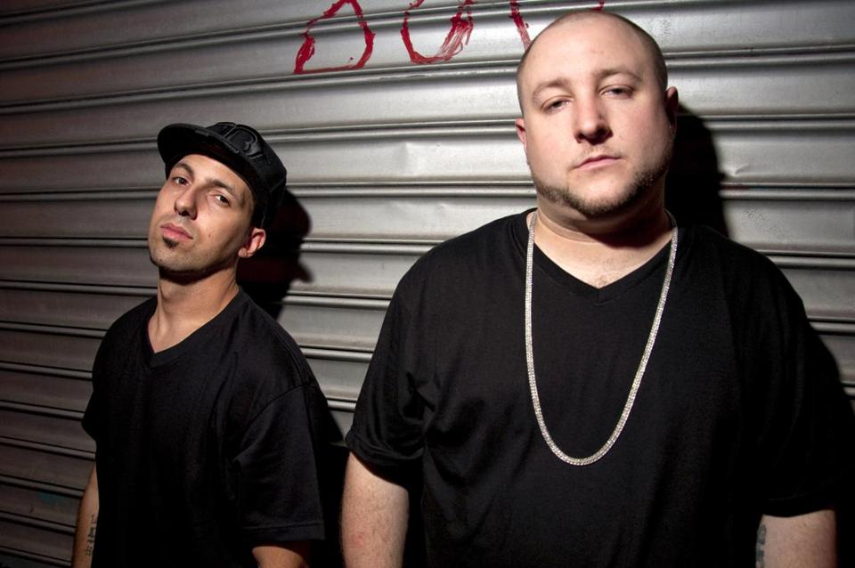 Rapper Termanology (left) and producer Statik Selektah have teamed up to take their sound in unexpected directions.