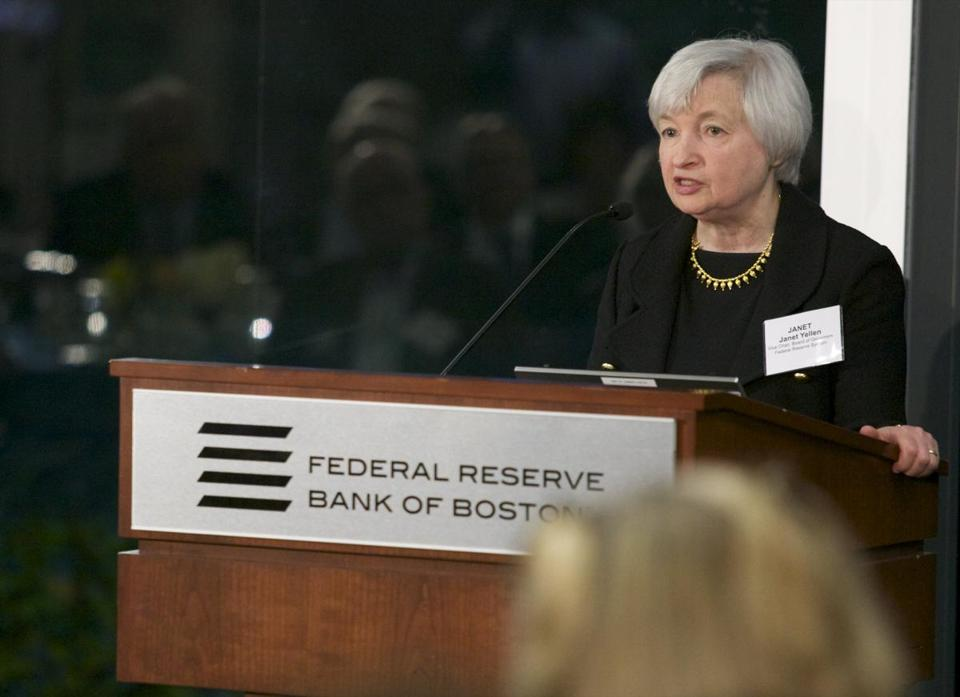 Comments by Janet Yellen, vice chair of the Fed, suggest that low-interest rate policies will remain intact.