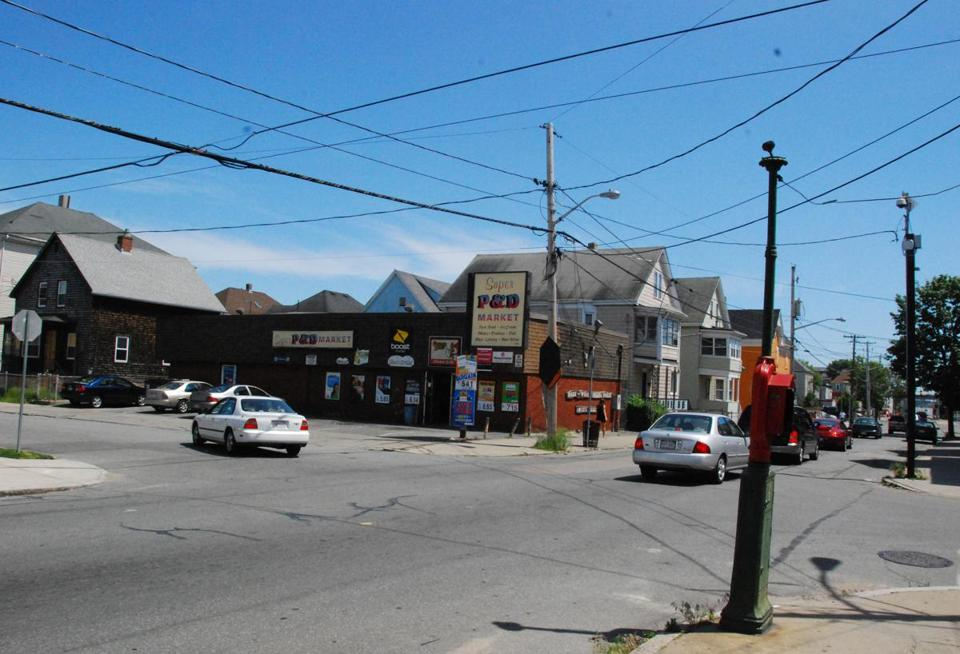 New Bedford locals identified this store on the corner of Ashley Boulevard and Tallman Street as a hotspot for gang activity.