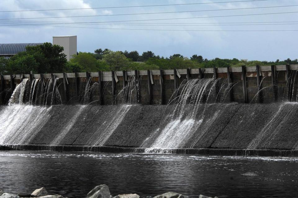 The Great Works Dam is among those on the Penobscot River in Maine that will be dismantled.
