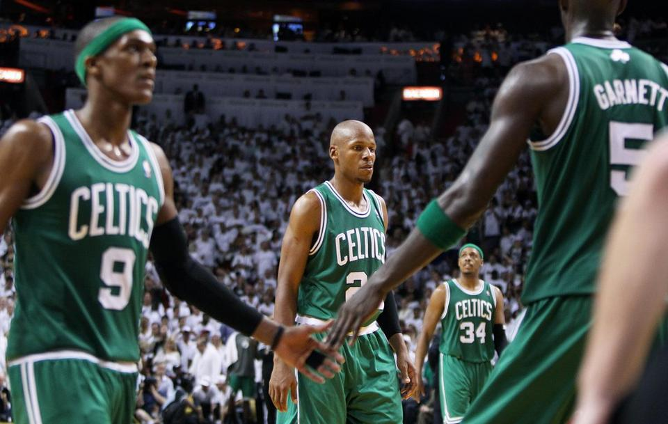 Boston's Game 7 record is 21-8. For the third time in franchise history, the Celtics lost a series after taking a 3-2 lead.