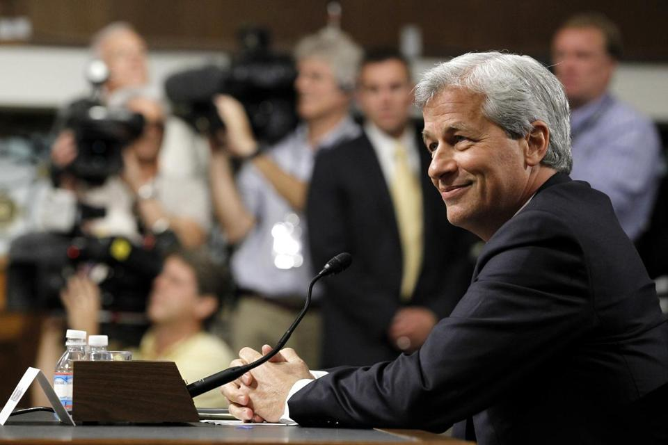 JPMorgan Chase CEO Jamie Dimon testified before the Senate Banking Committee on Wednesday.