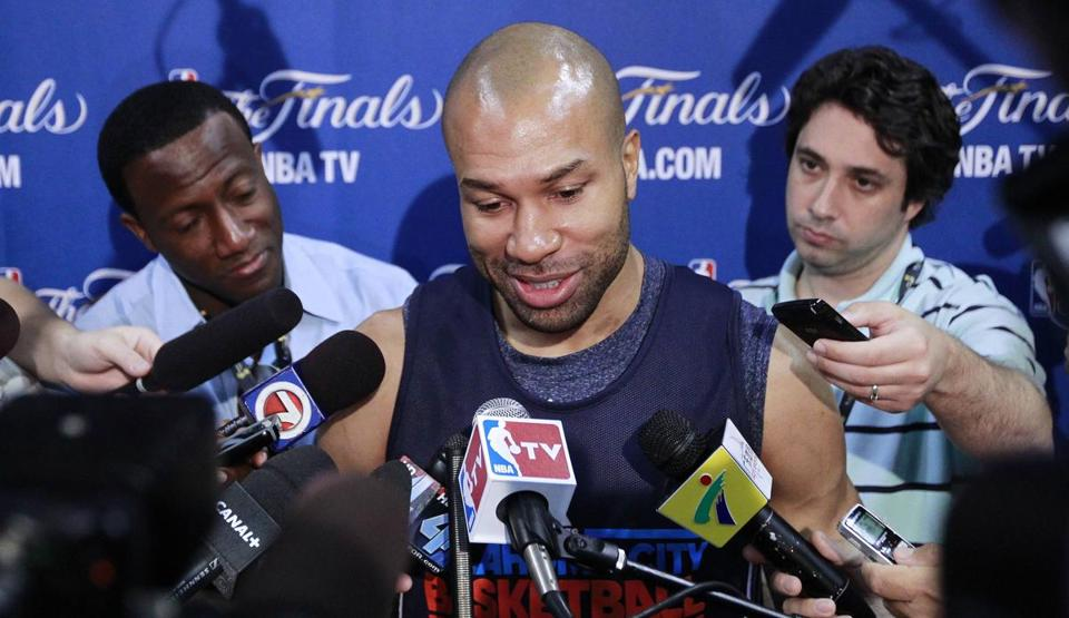 Derek Fisher, 37, has emerged as the first guard off the bench for the Thunder as he seeks his sixth NBA title.