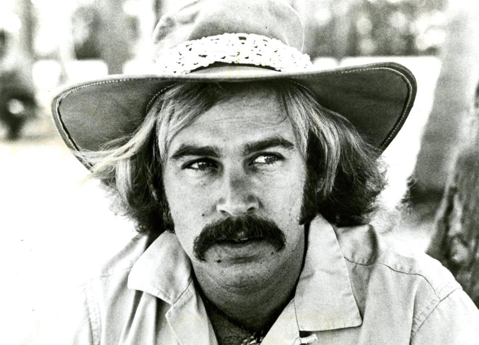 "Jimmy Buffett in 1975, just before the album ""Changes in Latitudes"" became a smash and changed his career — and his music."